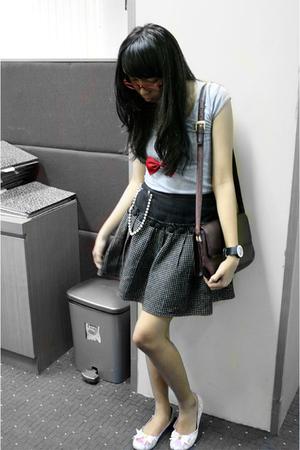 bgirl t-shirt - skirt - tracee shoes