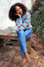 Forever-21-jeans-crab-print-forever-21-sweater-leopard-aldo-wedges