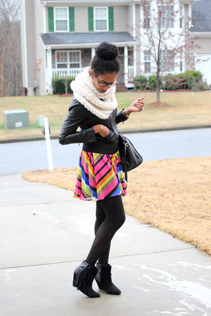 XOXO dress - black Forever 21 jacket
