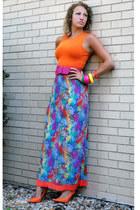 Moschino skirt - Guess heels - H&M top