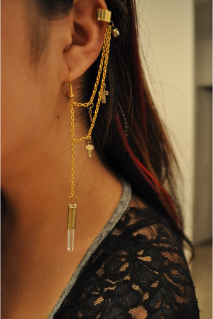 earring with earcuff earrings