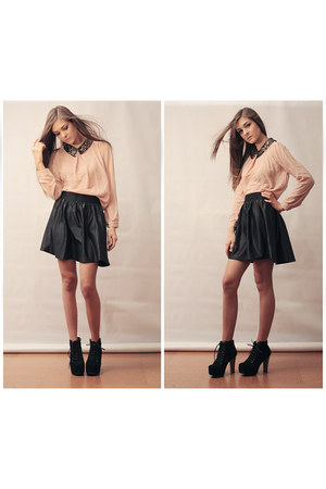 OASAP shirt - asos skirt