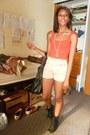 Black-steve-madden-boots-black-deux-lux-bag-beige-sway-shorts
