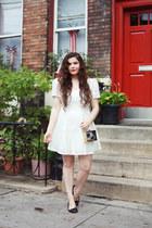 ivory lace Dahlia dress