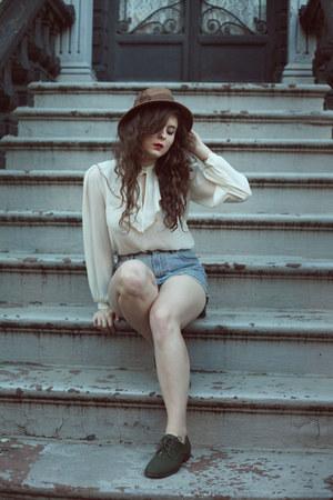 off white vintage vintage blouse blouse