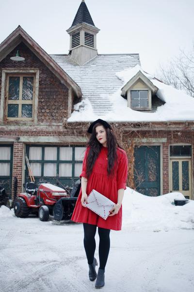 red PepaLoves dress