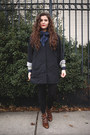 Dark-brown-leather-modern-vice-boots-gray-light-coat-crossroads-trading-coat
