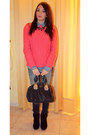 Tally-weijl-shoes-zara-jeans-pull-bear-sweater-pull-bear-shirt