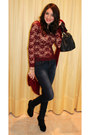 Asos-shoes-zara-jeans-luana-ferracuti-scarf-liujo-bag-stefanel-top