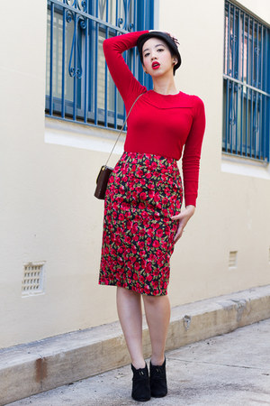 ruby red tallie jumper Review Australia top - ruby red Review Australia skirt