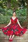 Ruby-red-dovima-dress