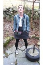 Zara jacket - Bik Bok t-shirt - Hophophop necklace - Forever21 accessories - Ame