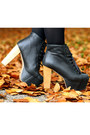 Gray-boyfriend-mango-coat-black-platform-jeffrey-campbell-boots