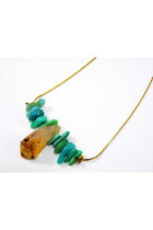 Item of the Day--Citrine and Amazonite Necklace