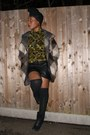 Olive-green-batik-agnes-and-lola-shirt-black-military-carvela-boots