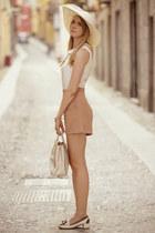 Topshop dress - Prada bag - tremp loafers