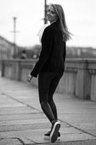 emporio armani blazer - Ralph Lauren shirt - Motivi pants - Superga sneakers