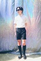 mixxmix shoes - Tokio shirt - skullism shorts