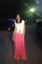 Aldo purse - Zara pants - new look top - Bershka heels - Local store necklace