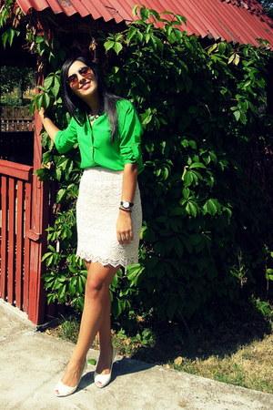ivory raus skirt - Marta shirt
