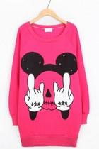 Oasap-sweatshirt
