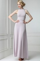 Elegant Braided Detailed Modal Dress