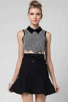 Female-chic Paneled Sleeveless Dress