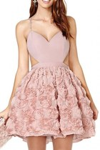 Beauteous Rosette Cami Dress