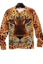 Lifelike Leopard Sweatshirt