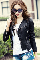 Cool Girl Biker PU Jacket