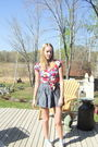 Pink-forever-21-blouse-blue-forever-21-skirt-blue-gilly-hicks-top-blue-tar