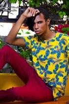 yellow riachuelo shirt