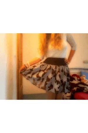 ICIE skirt - fb sister shirt