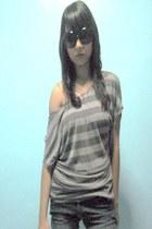 black Sm Accessories Department Store sunglasses - denim jeans BNY jeans shorts