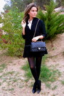 Black-nine-west-shoes-black-zara-jacket-black-chanel-bag