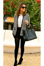 Black-zara-jacket-black-prada-bag-black-zara-shorts-white-zara-blouse