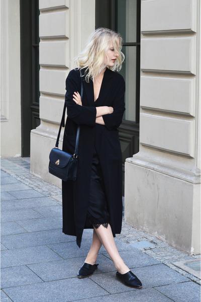 Bershka dress - H&M coat