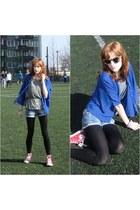 cobalt Sheinside blouse