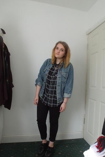 black next jeans