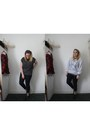 Navy-primark-jeans-navy-asos-shirt-silver-homesick-jumper-black-ebay-flats