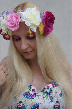 flower Flower hair accessory - bubble gum flower dress asos dress