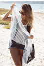 White-transparent-dress-black-handbag-newdress-bag