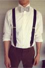 Seersucker-homemade-tie-dark-brown-oxford-steve-madden-shoes