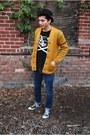 Pork-pie-urban-outfitters-hat-letterman-vintage-sweater