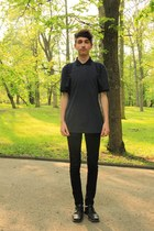 jeans - bag - t-shirt