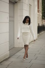 White-crop-jumper-jumper-cream-leather-skirt-skirt
