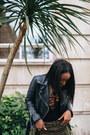 Dark-green-asos-jacket-black-zara-jacket-black-christian-louboutin-heels