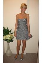 BCBG dress - Aldo purse - Chanel shoes