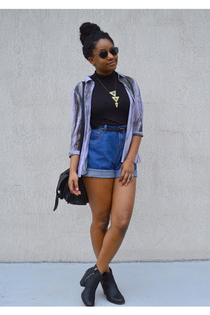 chicnova shorts - Boohoo top