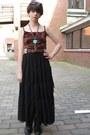 Black-leather-etsy-vintage-boots-brown-snakeskin-print-crystallized-vintage-dr